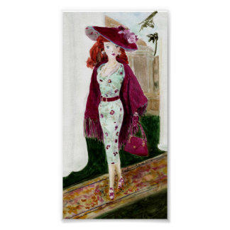 Rose: Matisse Doll Fashion Posters