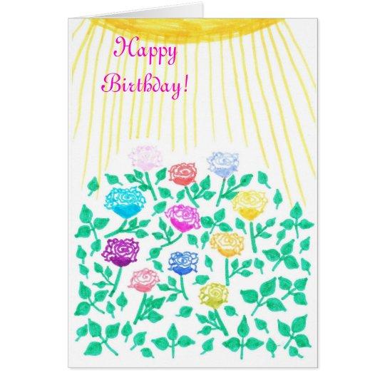 rose meadow card