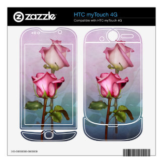 Rose Medley HTC myTouch 4G Decal