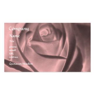 Rose - Metallic Rose - business card template
