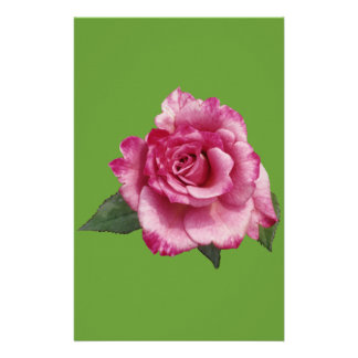 Rose Miniature Gift Personalized Stationery