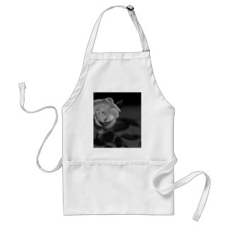 Rose monochrome photographed by Tutti Adult Apron