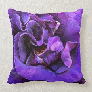 Rose Moods - Abundance Art Designer Pillow Throw Pillow