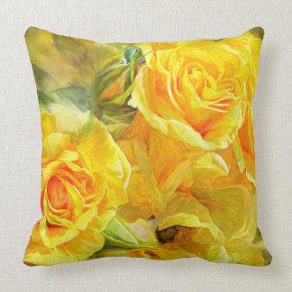 Rose Moods - Joy Art Designer Pillow Pillows