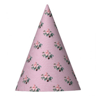 Rose Morocco Pink Party Hat