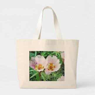 Rose Moss Flowers Tote Bag