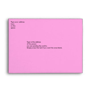 Rose Motif envelope - dark pink