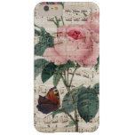 Rose Music Barely There iPhone 6 Plus Case