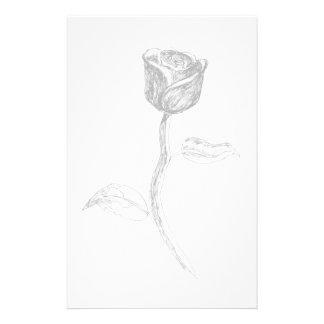 Rose negra papeleria de diseño