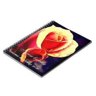 Rose Notebook 3 notebook