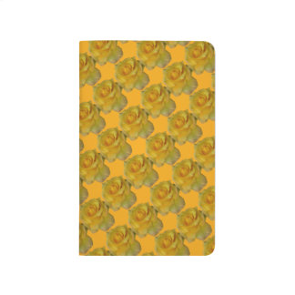 Rose Notebook Personalize Yellow Rose Journal Book