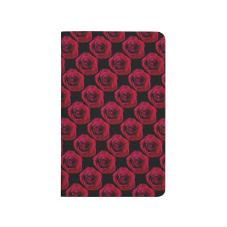 Rose Notebook Personalized Red Rose Journal Book