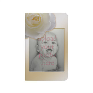 Rose Notebook Personalized Rose Journal Book