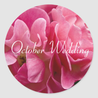 Rose :: October Wedding Sticker