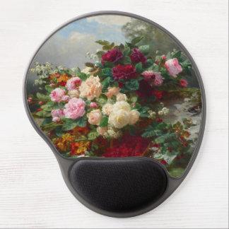 Rose of fall gel mouse pad