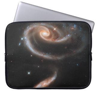 Rose of Galaxies Laptop Computer Sleeves