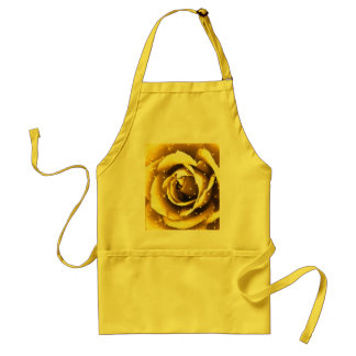 Rose of gold_ adult apron