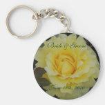 Rose of Joy Bride & Groom Keychain