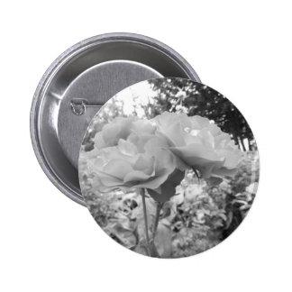 Rose of Love B/W Pin