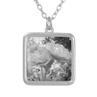 Rose of Love B/W Custom Necklace