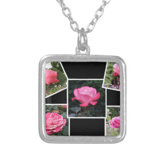 Rose of Love Collage Pendant