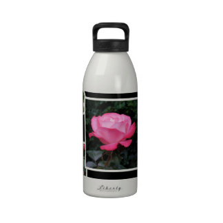 Rose of Love Collage Reusable Water Bottle