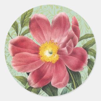 Rose of Love Floral Sticker Envelope Seal