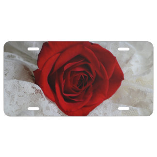 Rose of Love License Plate