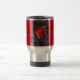 rose of love travel mug