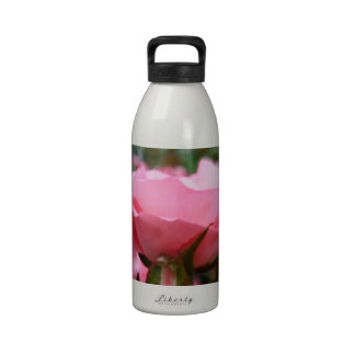 Rose of Love Reusable Water Bottles