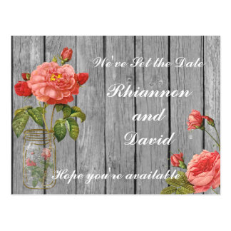 Rose of Orleans Save the Date Card