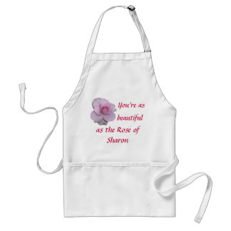 Rose of Sharon Adult Apron