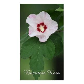 Rose of Sharon Floral Bloom Business Card
