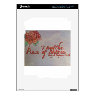 rose of sharon iPad 3 decal