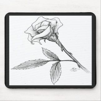 Rose of sorrows mouse mat