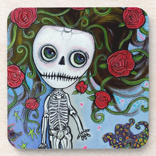 Rose Of The Sea Drink Coasters