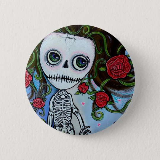 Rose Of The Sea Pinback Button