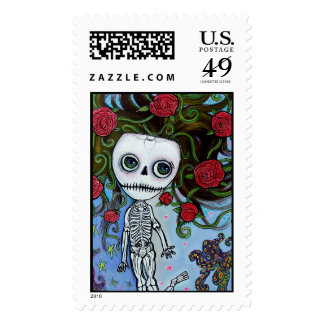 Rose Of The Sea Postage Stamp