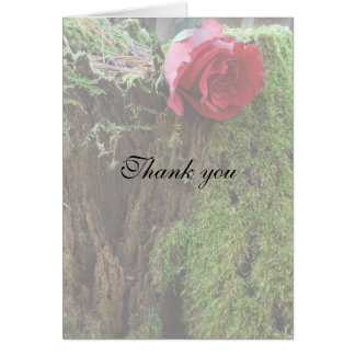 Rose on a stump cards