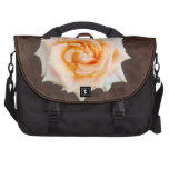 Rose on Chocolate Commuter Bag