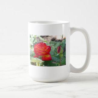 Rose on Fire Mug