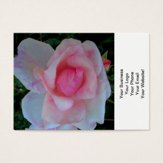 Rose Opening Flower Business Card