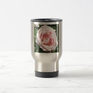 Rose Opening Sunlight Travel Mug