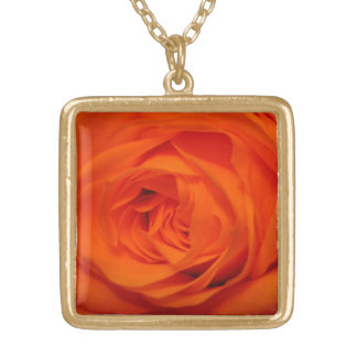 Rose (Orange/Apricot) Necklace