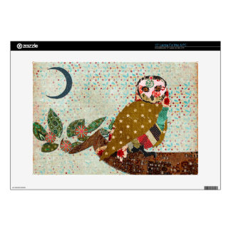 """Rose Owl Serenity Skin Skins For 15"""" Laptops"""