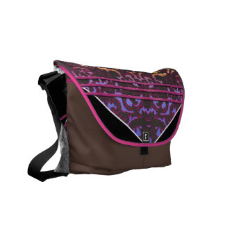 rose paisley commuter bags