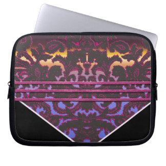 rose paisley computer sleeve