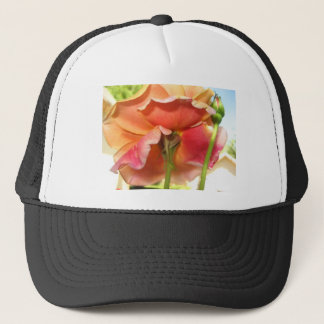 rose,pastel trucker hat