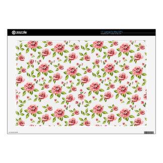 """rose pattern 17"""" laptop decals"""
