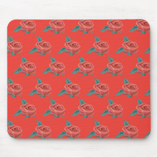 Rose Pattern 1 Mouse Pad
